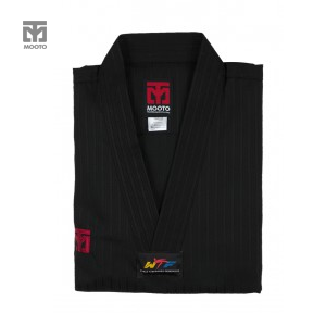 [무토] 베이직 4 컬러도복 블랙_검정깃(겨루기 단체복)