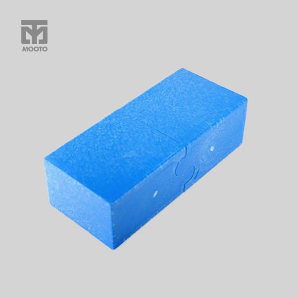 [무토] 플라스틱 벽돌 (블루)