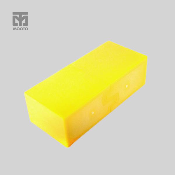 [무토] 플라스틱 벽돌 (옐로우)