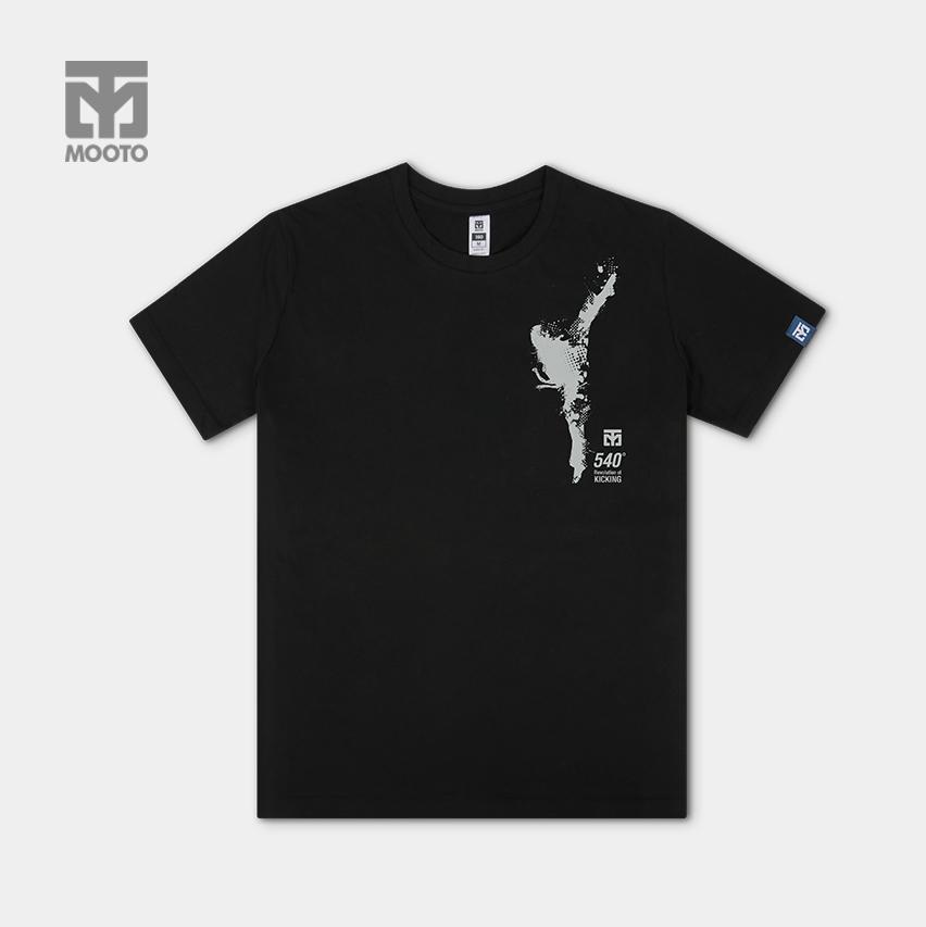 [무토] 540발차기 면티셔츠 블랙