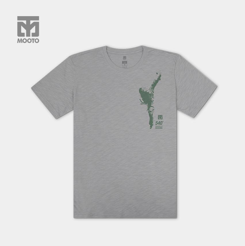 [무토] 540발차기 슬럽티셔츠/그레이