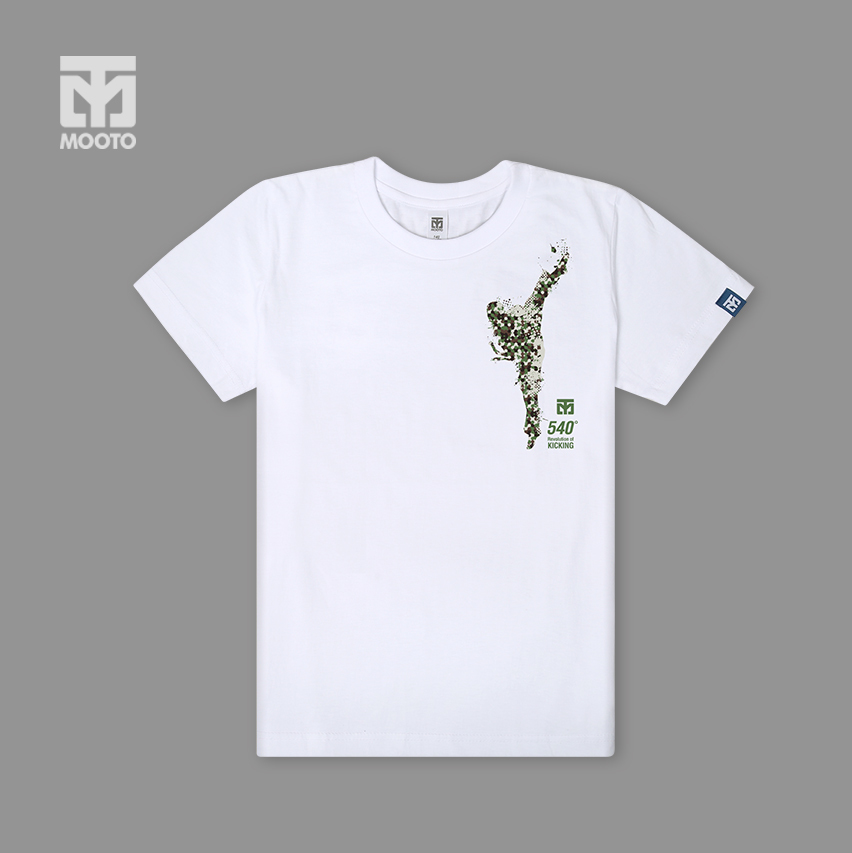 [무토]540발차기 반팔 면티셔츠_화이트