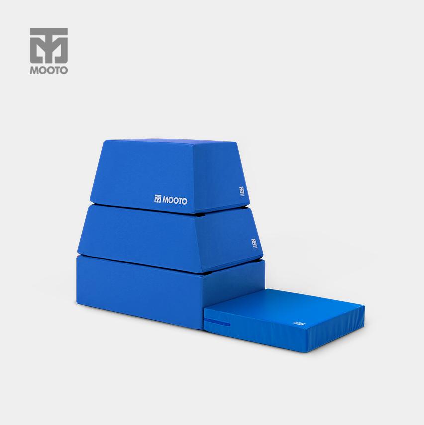[무토] 베이직 뜀틀(3~4단)-블루