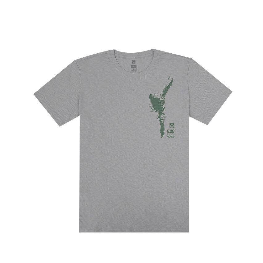 [무토]540발차기 슬럽 티셔츠_그레이