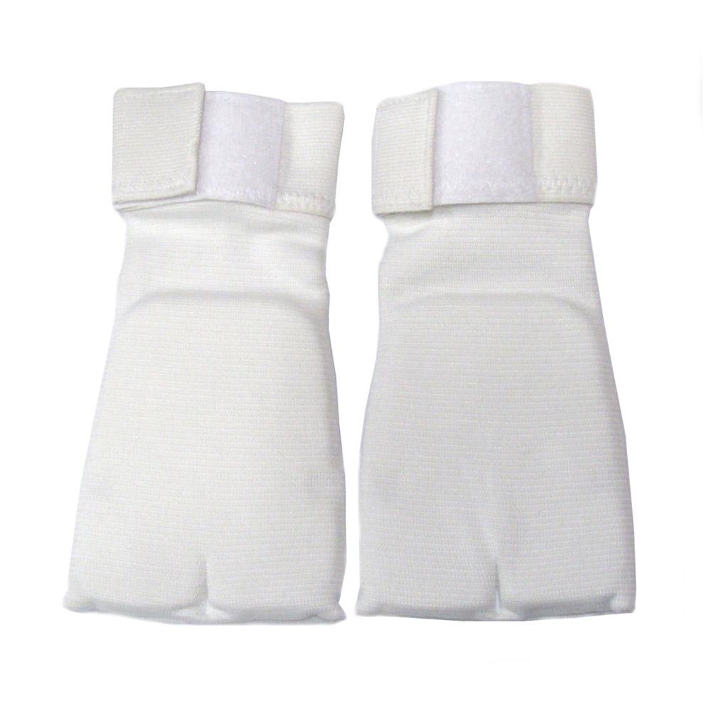 [무도샵]손등 벨크로 면아대_화이트
