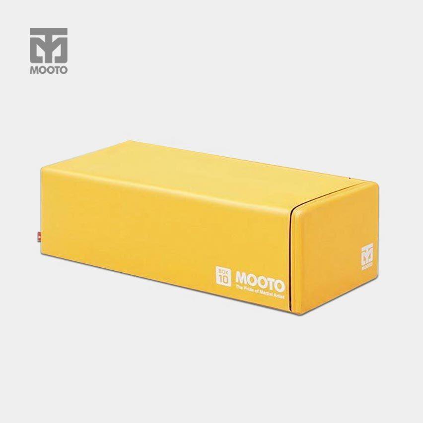 [무토] 박스텐 사각백 단품_옐로우