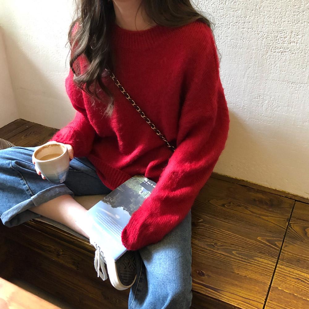 [TOP]소로아 루즈핏 니트