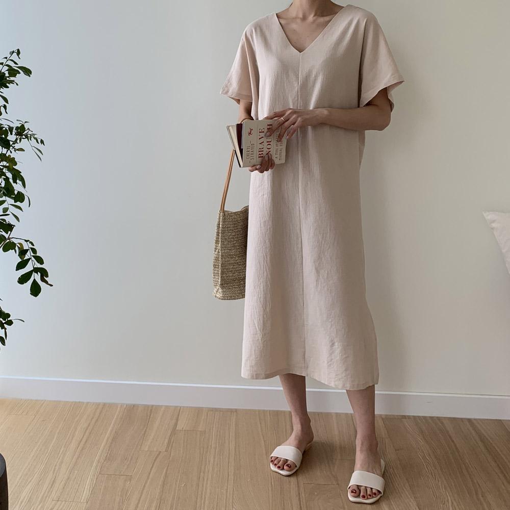 [DRESS]로렌비 린넨원피스