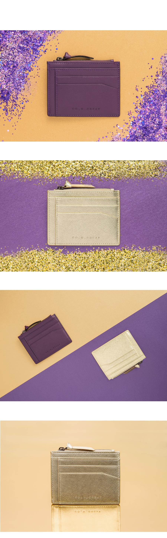[코앤크릿] 17WZC0201C02PG 지퍼 시그니쳐 카드지갑 페일골드 - 코앤크릿, 44,000원, 동전/카드지갑, 카드지갑