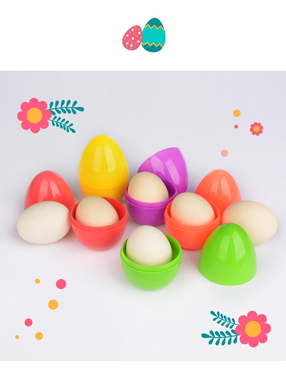 부활절 계란케이스 스탠딩 에그캡슐 (대) 5종에는 계란 한 개가 쏙 들어가 예쁘게 포장됩니다.