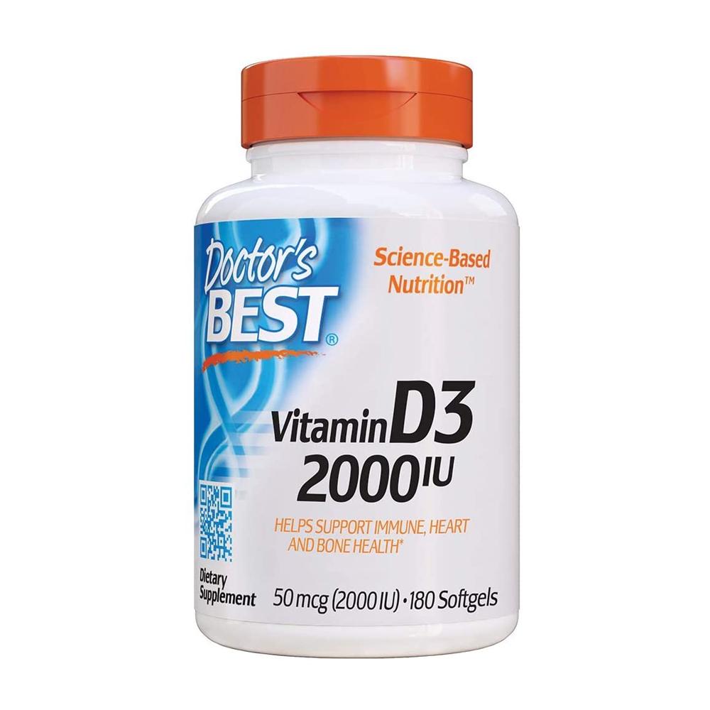 닥터스베스트 비타민 D3 Vitamin D3 2000IU 180정