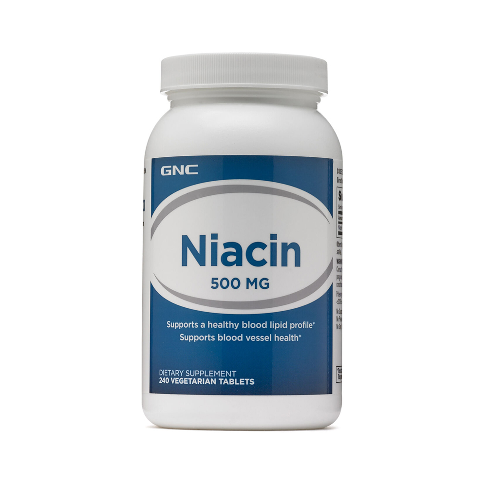 GNC 니아신 Niacin 500mcg 240정