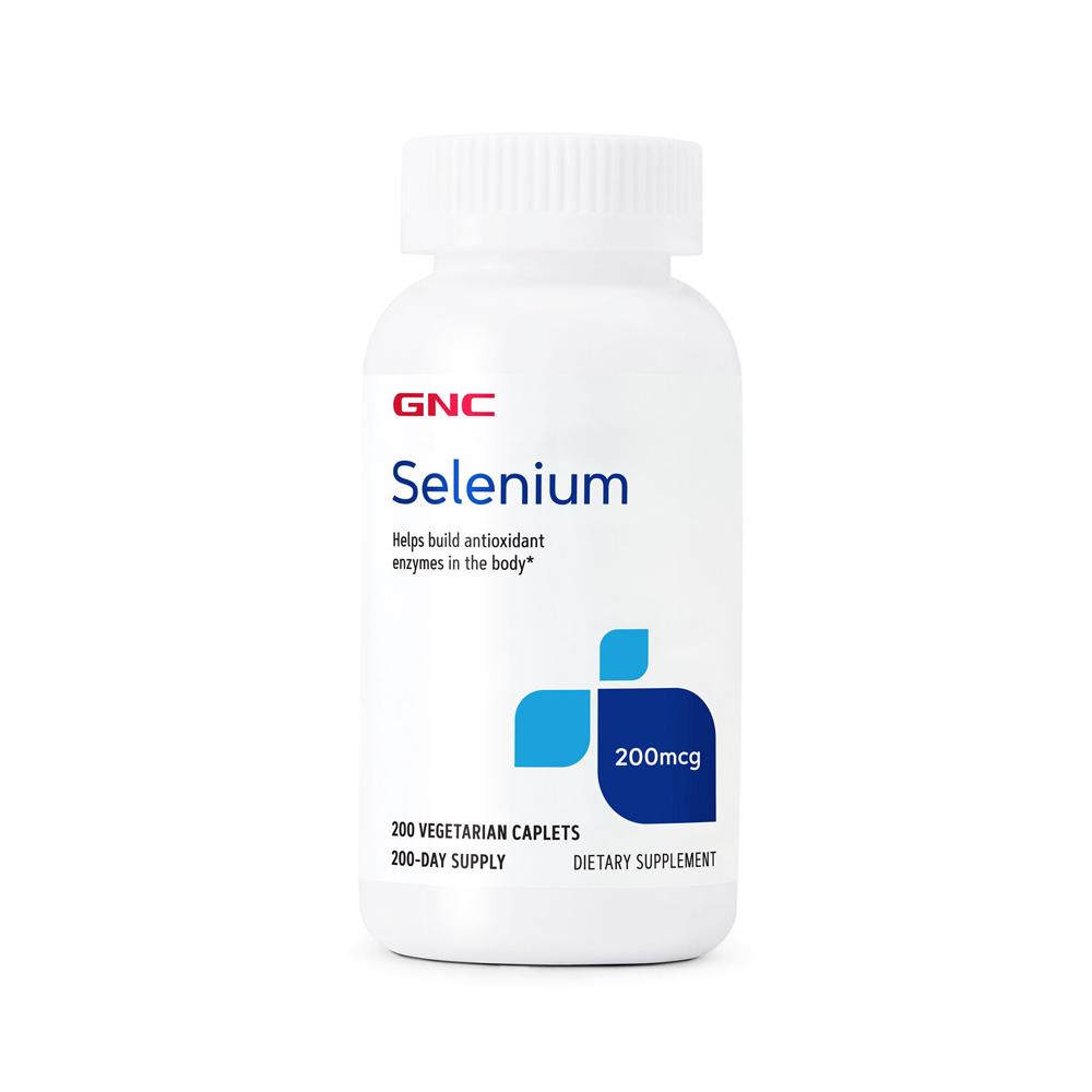 GNC 셀레늄 Selenium 200mcg 200정