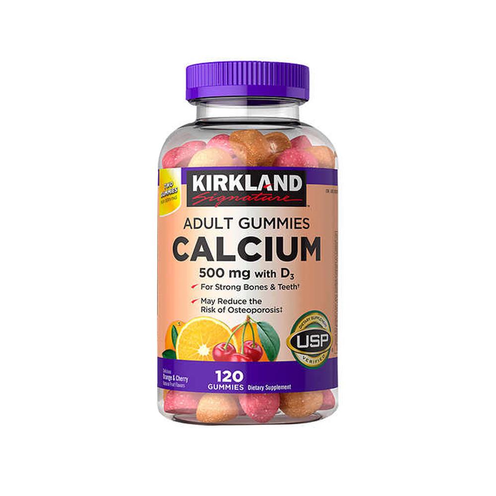 Kirkland 커클랜드 시그니쳐 칼슘 구미 120정