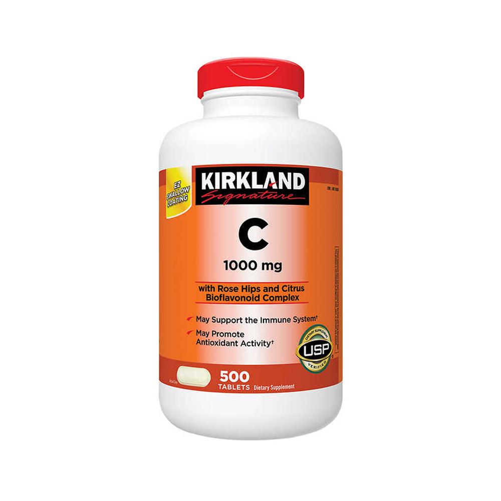 Kirkland 커클랜드 비타민C VitaminC 1000mg 500정