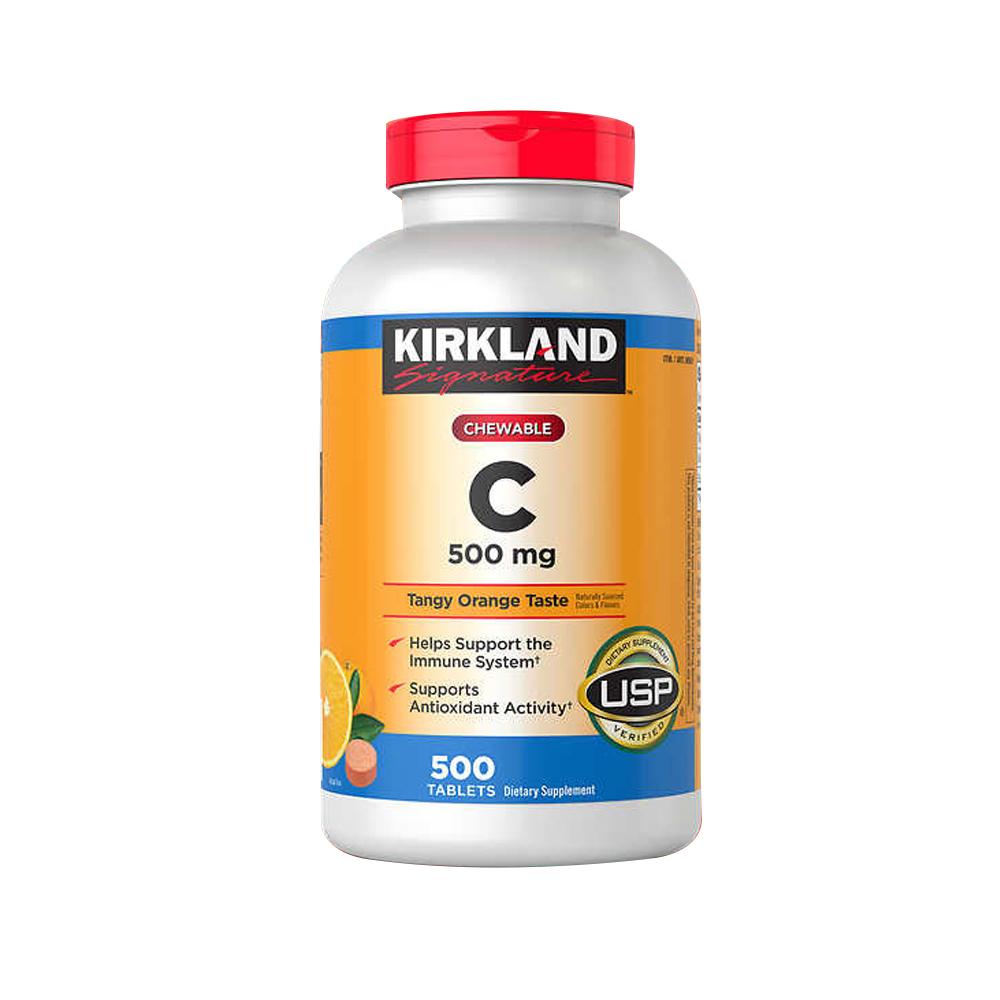 Kirkland 커클랜드 츄어블 비타민C VitaminC 500mg 500정