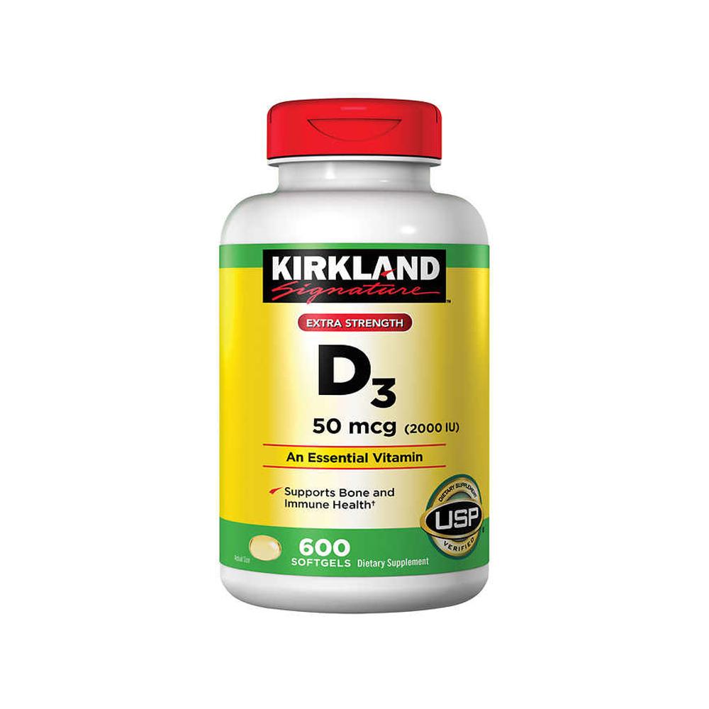 Kirkland 커클랜드 비타민D3 VitaminD3 2000IU 600정