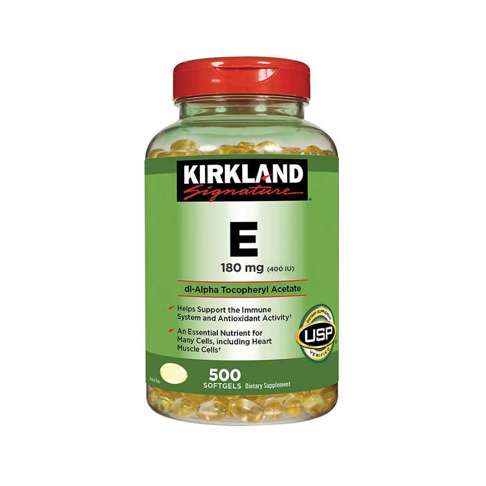 Kirkland 커클랜드 비타민E VitamineE 400IU 500정