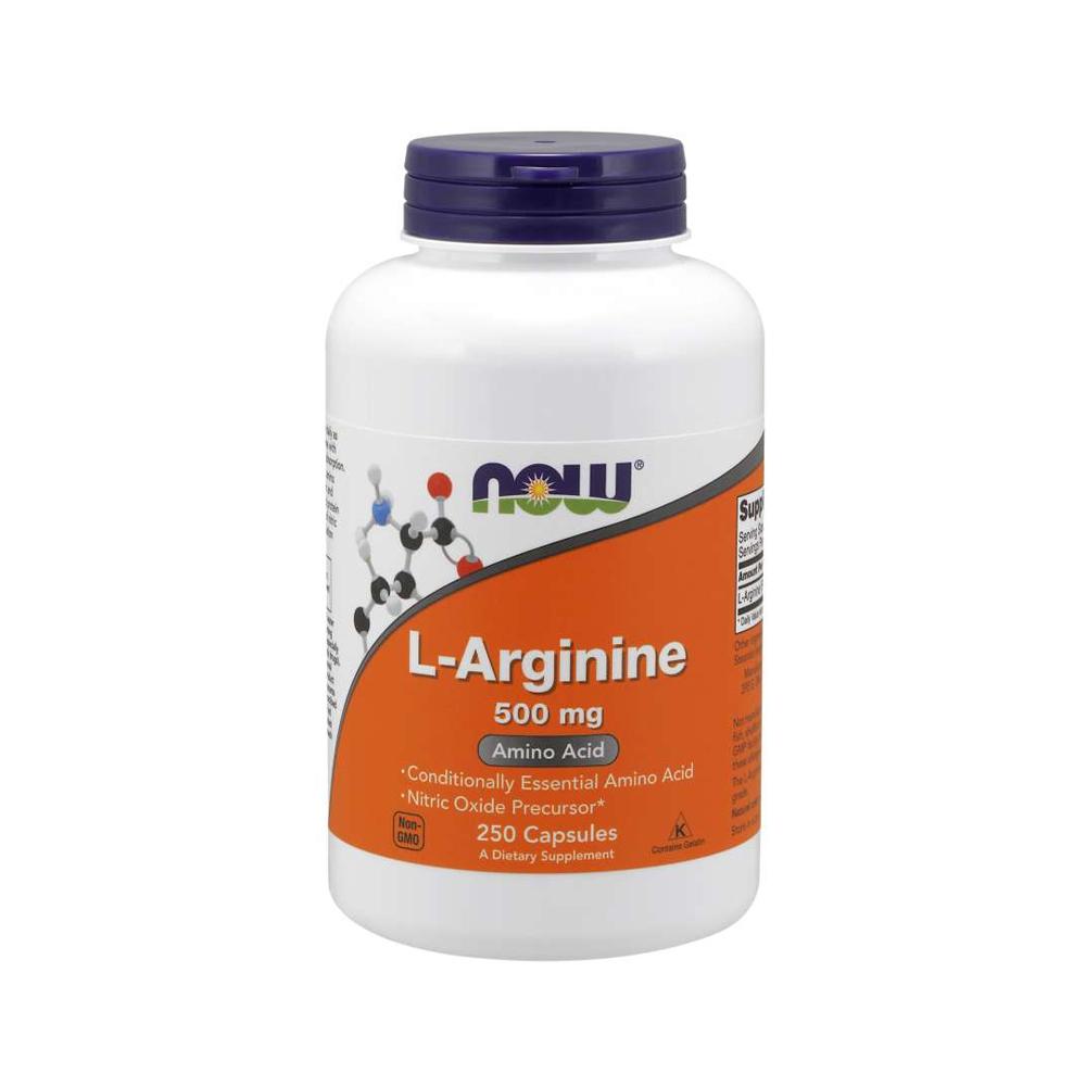 Nowfoods 나우푸드 아르기닌 L-Arginine 500mg 250정