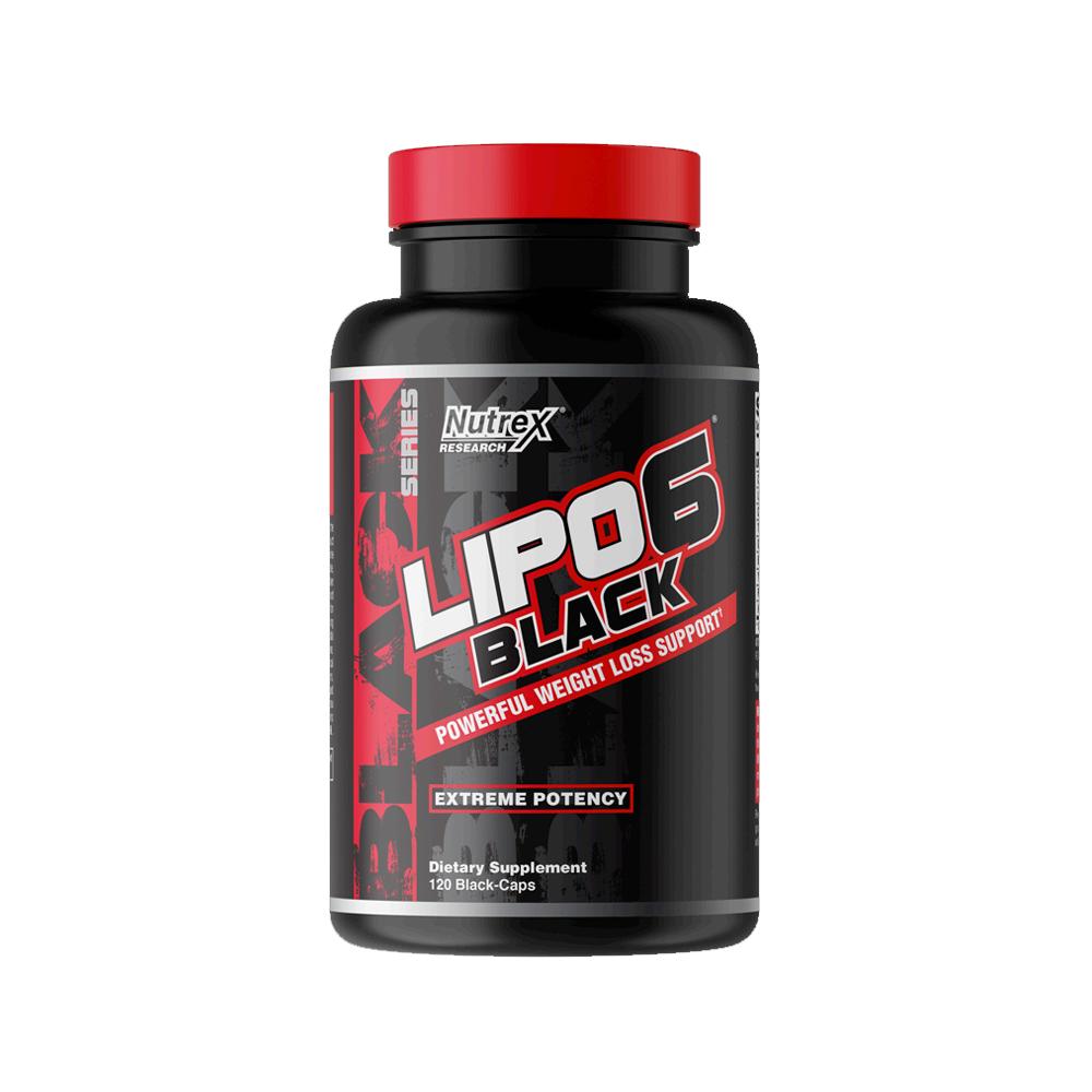 Nutrex 리포 6 블랙 Lipo-6 Black 120caps