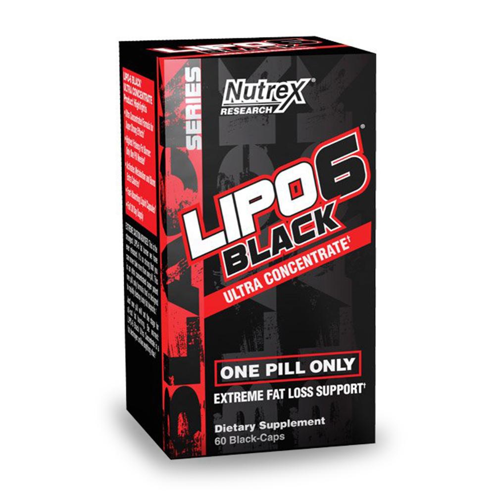 Nutrex 리포 6 블랙 Lipo-6 Black UC 60caps