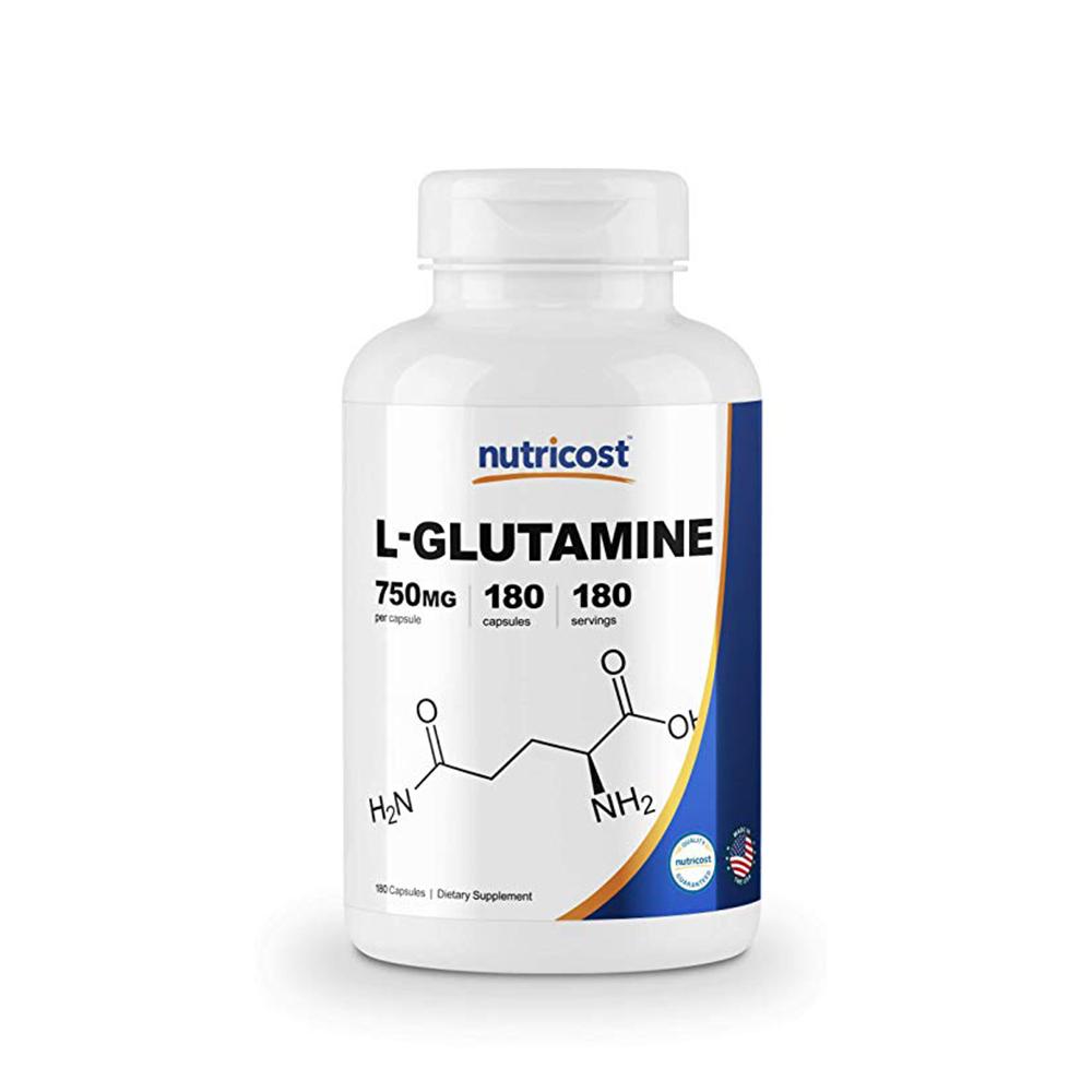 Nutricost 뉴트리코스트 글루타민 L-Glutamine 180cap