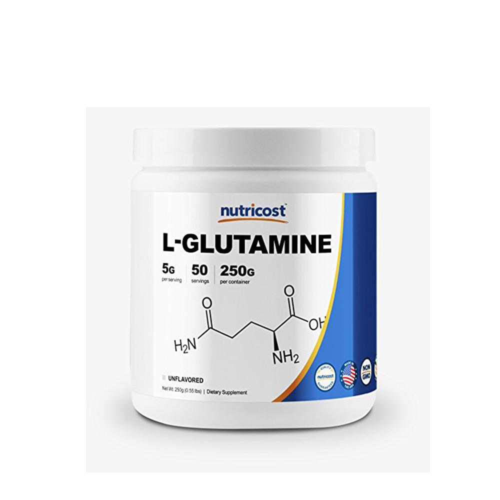 Nutricost 글루타민 L-Glutamine 무맛 250g