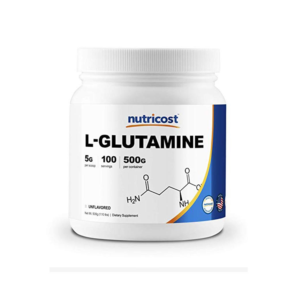 Nutricost 글루타민 L-Glutamine 무맛 500g