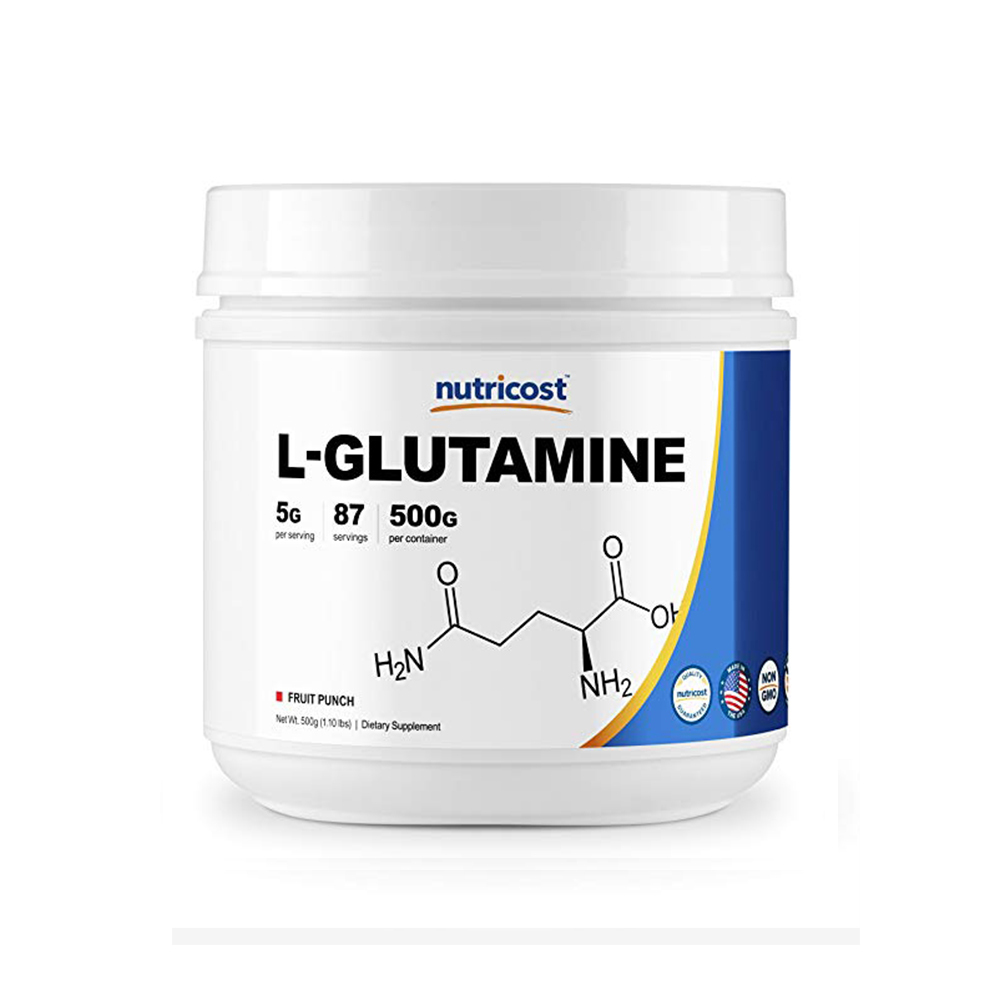 Nutricost 글루타민 Glutamine Fruit Punch 500g