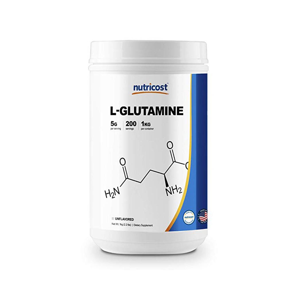 Nutricost 글루타민 L-Glutamine 무맛 1kg