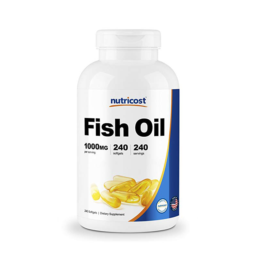 Nutricost 피쉬오일 fish oil 240 softgel