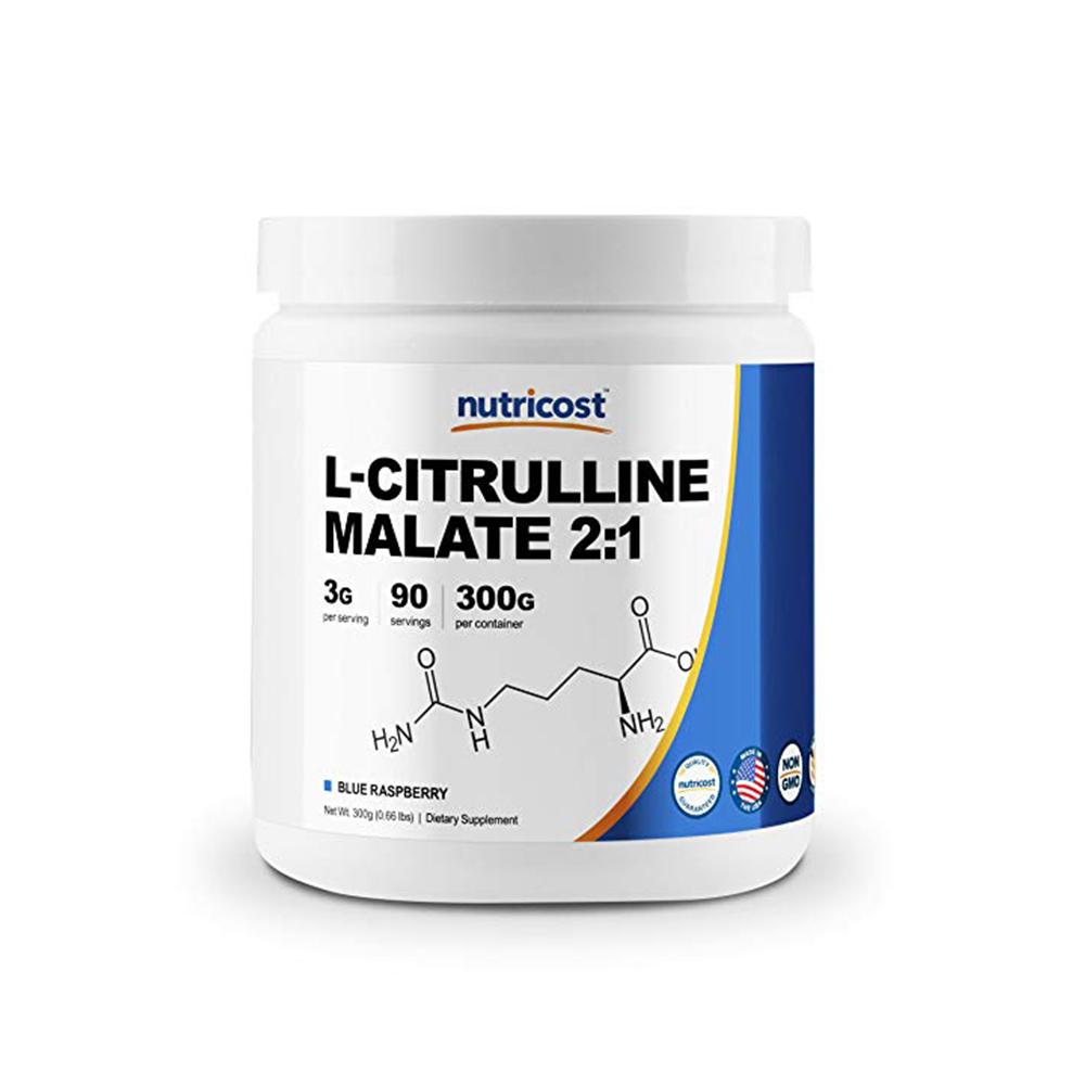 Nutricost L-시트룰린 말레이트  라즈베리 300g