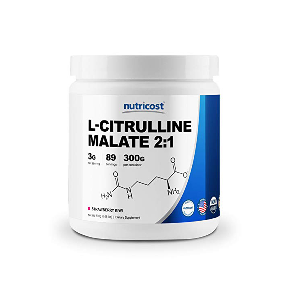 Nutricost L-Citrulline 스트로베리키위 300g
