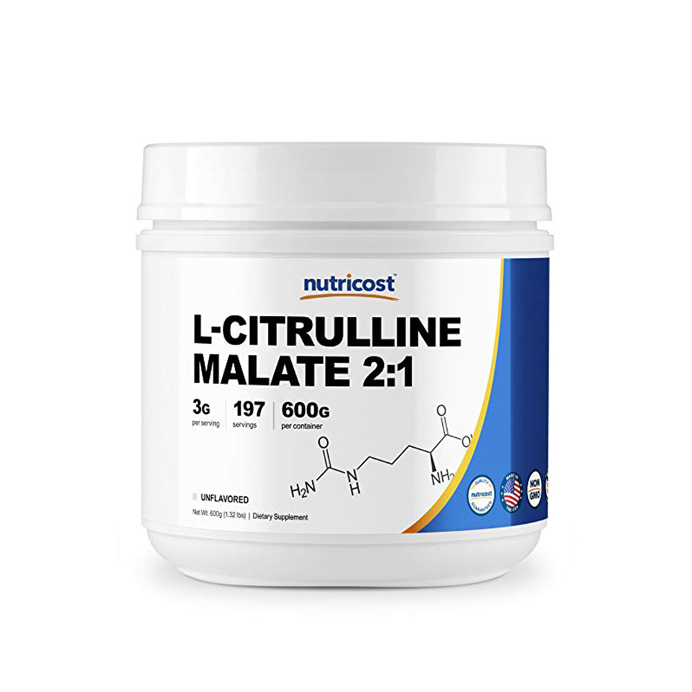 Nutricost L-Citrulline Malate Powder 무맛 600g