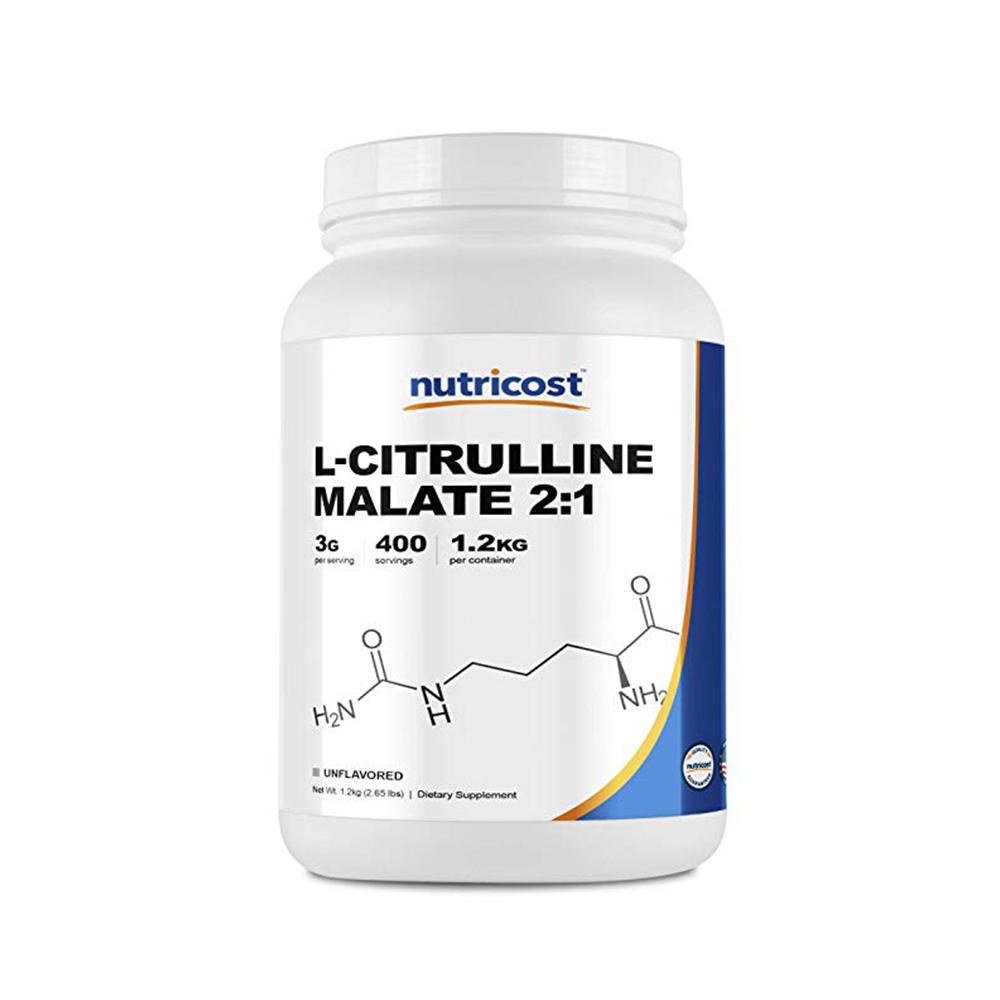 Nutricost 뉴트리코스트 L-시트룰린 말레이트 파우더 무맛 1.2kg