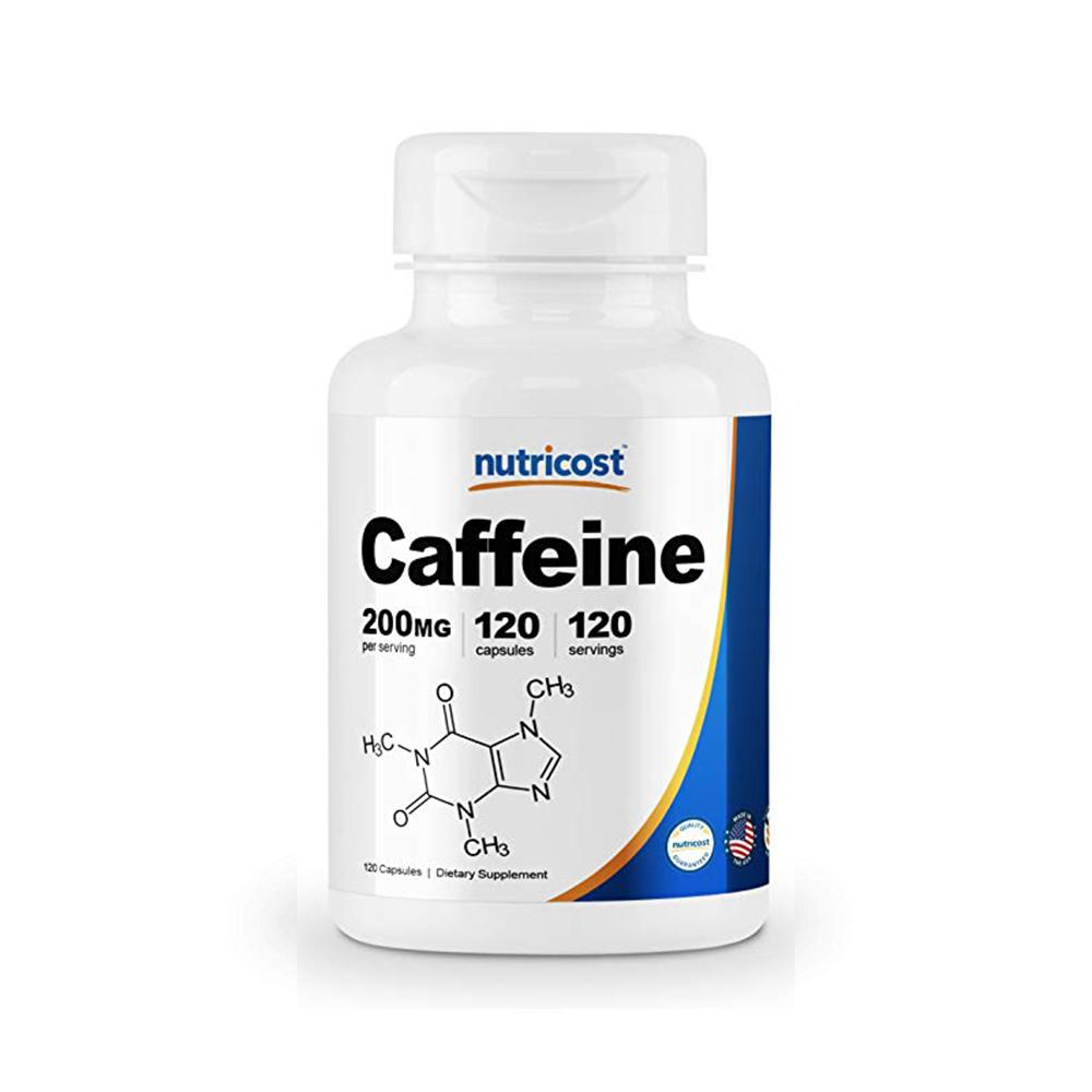 Nutricost 카페인 Caffeine 200mg 120cap