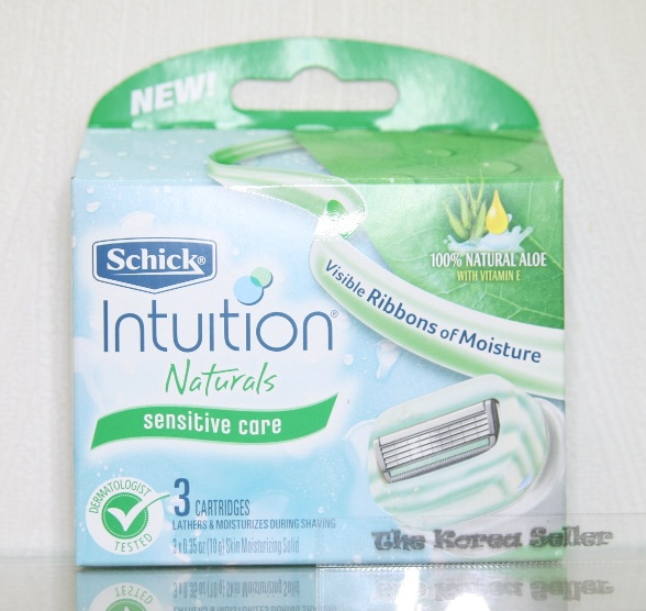 How To Use Schick Intuition Naturals