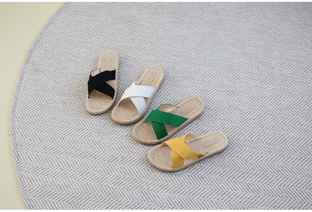 모모 크로스 슬리퍼(2cm) - 나즈나, 19,900원, 샌들/슬리퍼, 슬리퍼