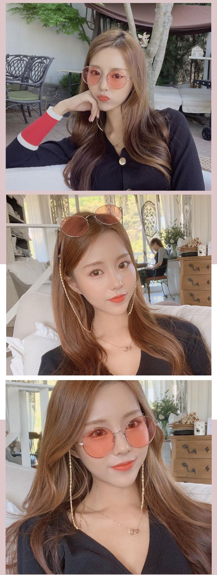 트리샤(TRISHA) REGGAE 레게 동그란 틴트 패션선글라스