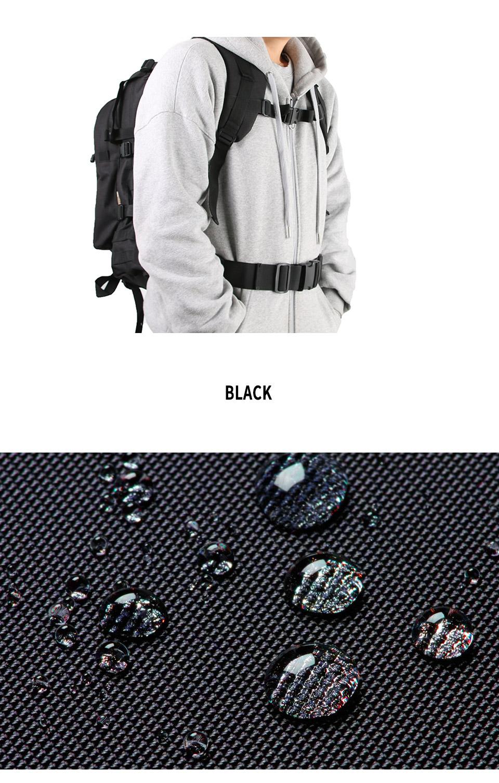 [웍스페디션]어드반스 40리터 전술 백팩(BLACK)