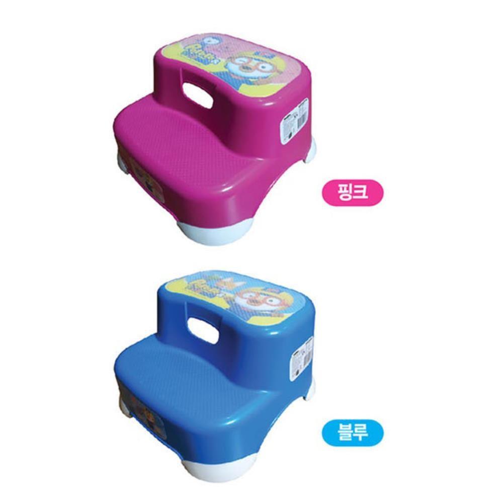 뽀로로 이단 디딤대 변기디딤대 유아계단 어린이집 변기발판