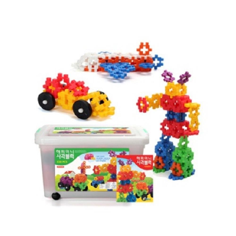 창의력 자극 어린이집용 / 사각블럭 사각형블럭 십자블록