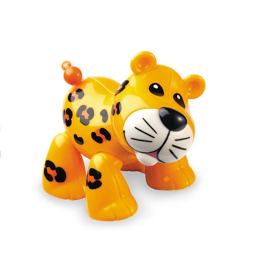 자연관찰 표범 동물 장난감 돌봄교실 모형완구 유아감각발달놀이  학습