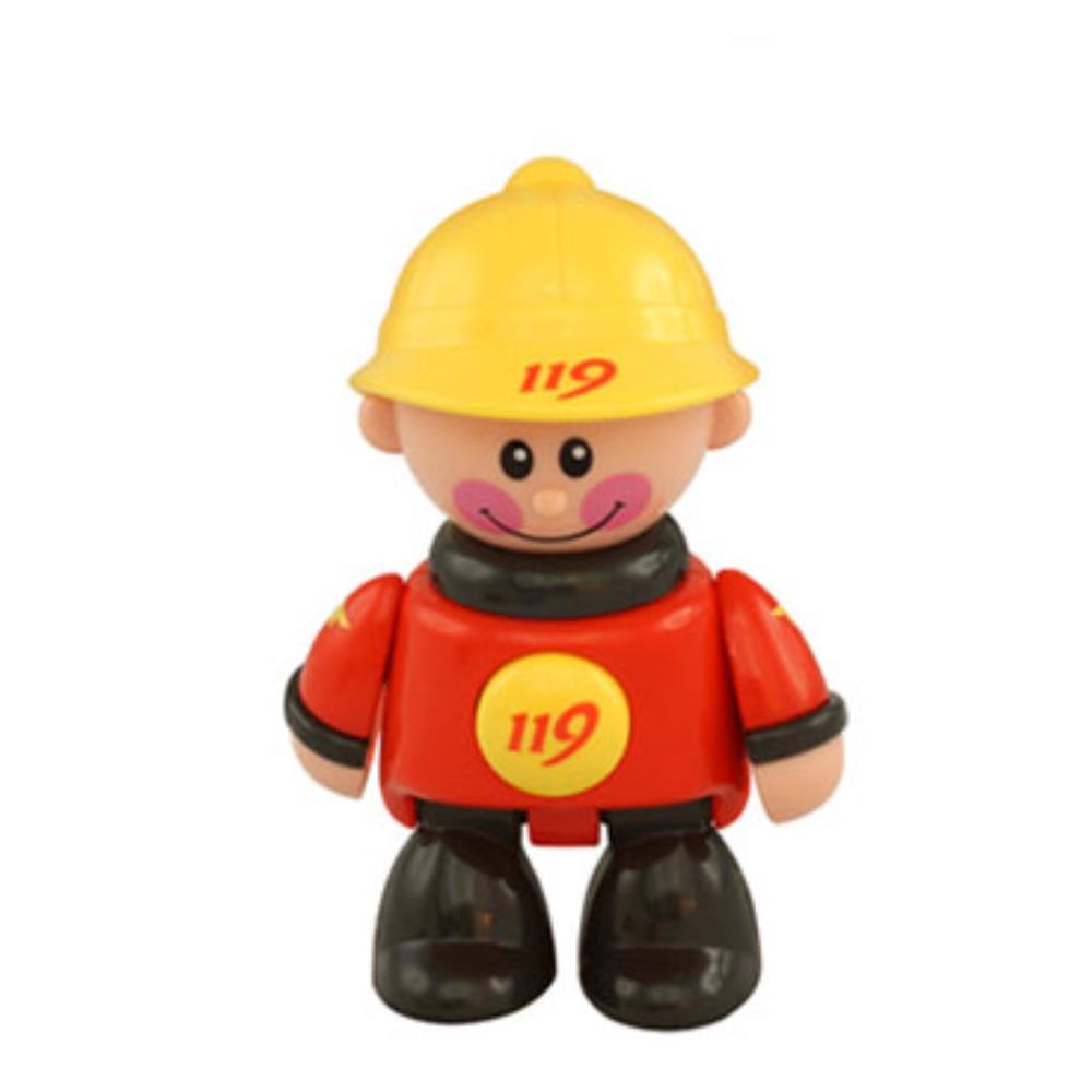 애착인형 직업체험  소방관 장난감 피규어 아이선물 귀여운인형선물
