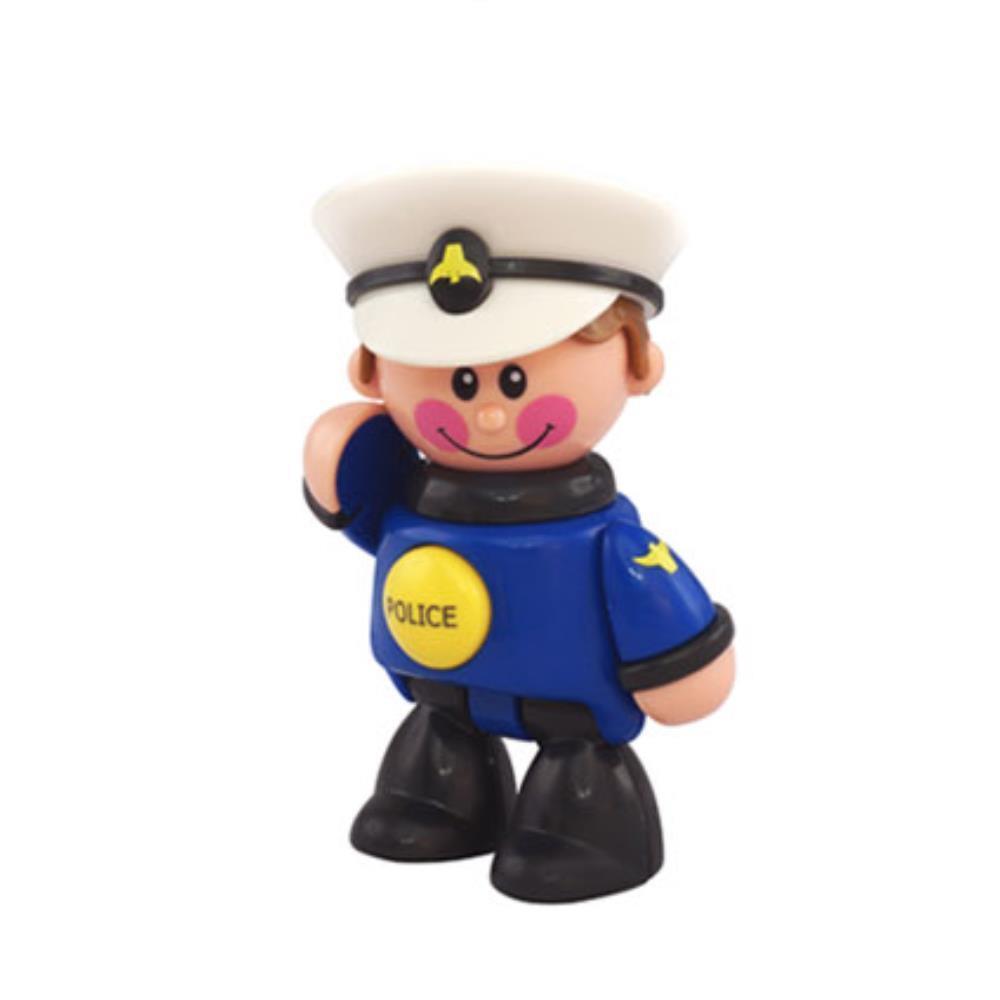 인형선물 경찰관  캐릭터 직업놀이 유아용 장난감 작은인형 귀여운선물