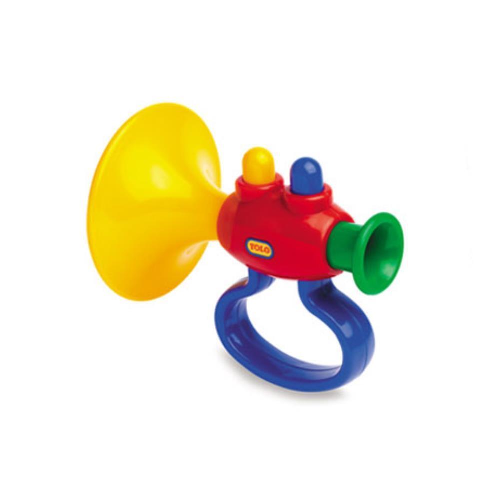 높낮이조절 유아용 트럼펫  장난감 어린이기타장난감 음악교구 완구