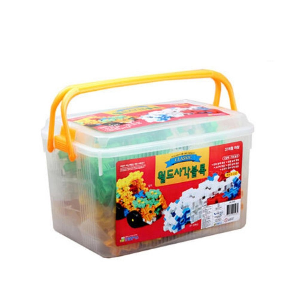 감각놀이  사각 블럭 아동 장난감 어린이선물 미니블록 아기블럭
