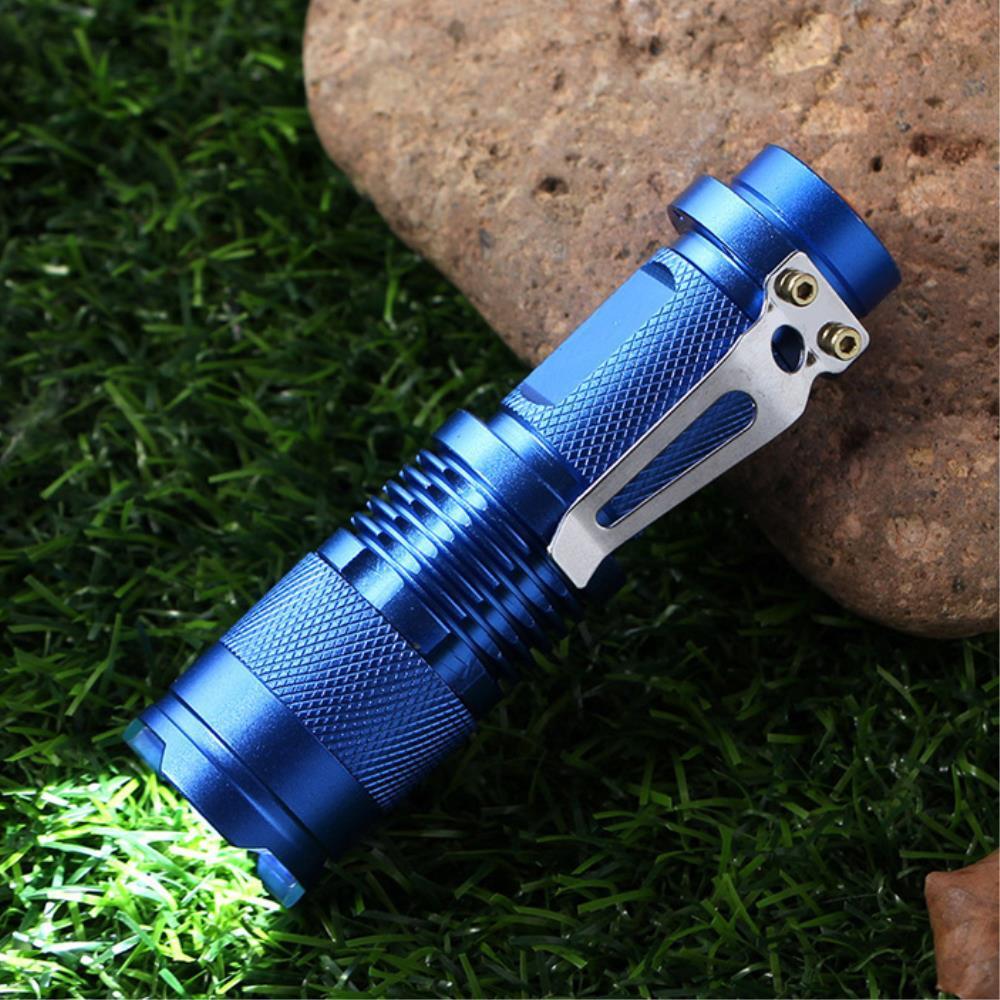 야간산행 휴대용 클립형  미니 랜턴 충전식라이트 충전용손전등 편리한손전등