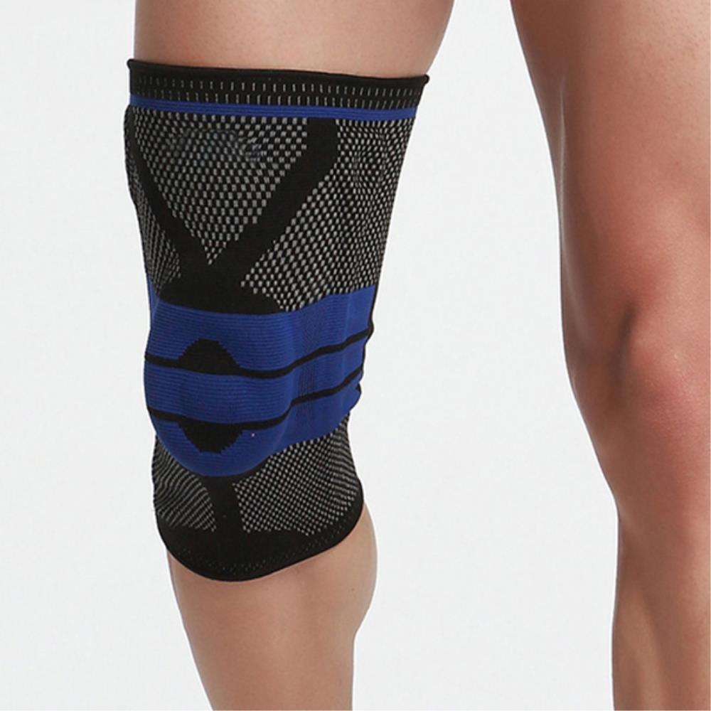 사이클  무릎 관절 압박 보호대 2개 무릎보호대착용 크로스핏용품