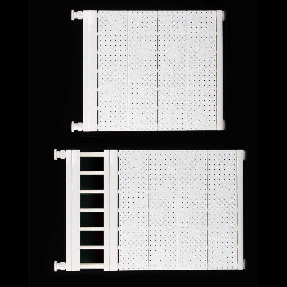 간편설치 / 길이조절 압축봉 선반 욕실수납선반 화장실선반